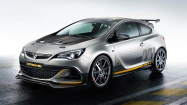 Vauxhall Astra VXR Extreme front view