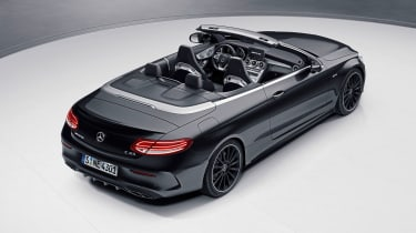 Mercedes-AMG C43 Cabriolet Night Edition - rear three-quarter