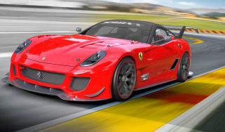 Ferrari 599XX Evolution track supercar