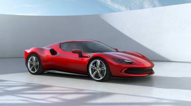 2022 Ferrari 296 GTB – front quarter