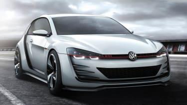 496bhp VW Golf Design Vision GTI front