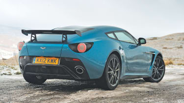 Aston Martin V12 Zagato double-bubble roof