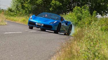 Ferrari 488 Spider - front
