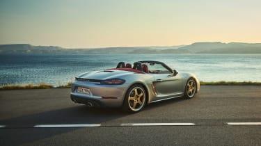 Porsche Boxster 25 - rear static