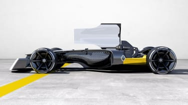 Renault R.S. Vision 2027 - canopy open