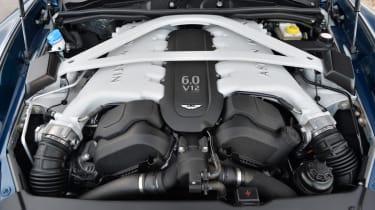 Aston Martin Vanquish Volante 5.9-litre V12 engine