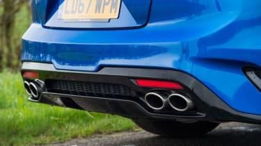 Kia Stinger GT S - Exhaust