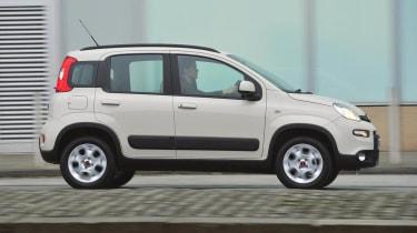 2013 Fiat Panda Trekking side profile
