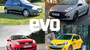 Renault Sport Clio: history of the french hot hatch hero