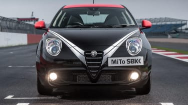Alfa Romeo Mito Quadrifoglio Verde SBK front view