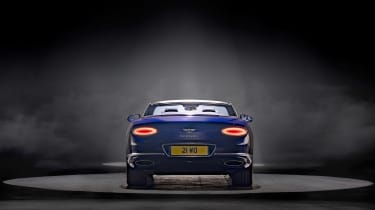 Bentley Continental GT Convertible Speed – rear