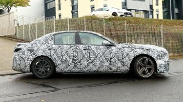 Mercedes-AMG C63 2021 spy - side