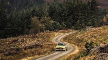 Aston Martin DBX prototype - distance