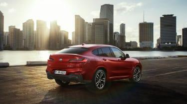 BMW X4 M40d - rear quarter static