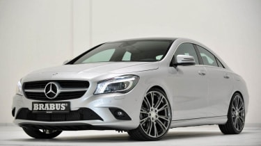 Brabus Mercedes CLA silver front