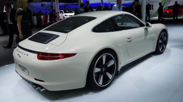 Frankfurt motor show 2013 Porsche 911 50 Years edition