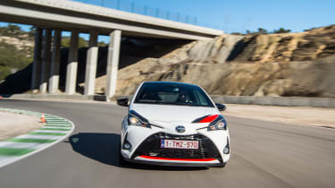 Toyota Yaris GRMN – front