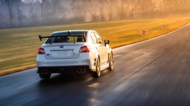 Subaru WRX STI S209 - rear quarter