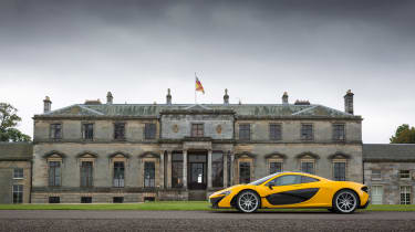 McLaren P1 yellow DS - house