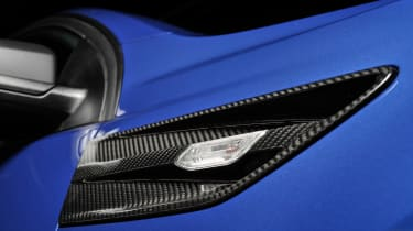 Vauxhall VXR8 GTS-R blue - UK car fender