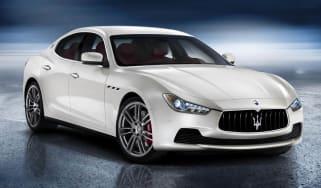 New Maserati Ghibli white front