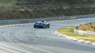Nissan 350Z Roadster on the Nurburgring