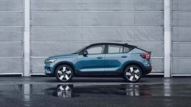 Volvo C40 Recharge side
