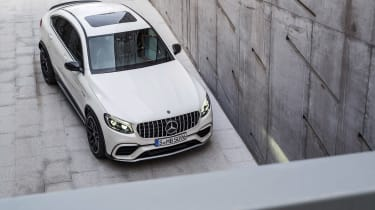 Mercedes-AMG GLC 63 Coupe above
