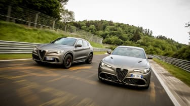 Alfa Romeo NRING Giulia - pair