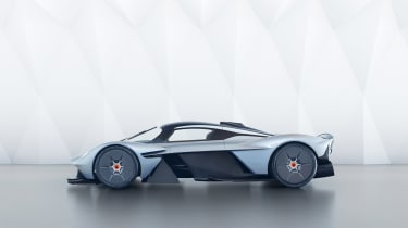 Aston Martin Valkyrie - side profile