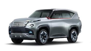 Mitsubishi GC PHEV concept front