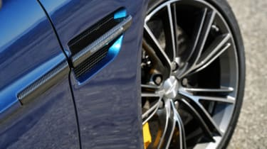 Aston Martin Vanquish Volante alloy wheel yellow brakes