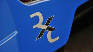 Radical RXC badge decal