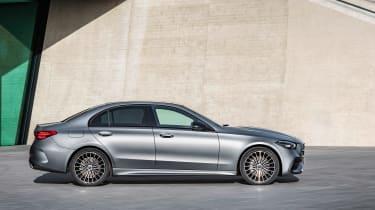 2021 Mercedes C-class revealed - profile