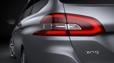Peugeot 308 SW rear light