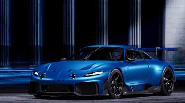 Alpine A110 GTA concept – front