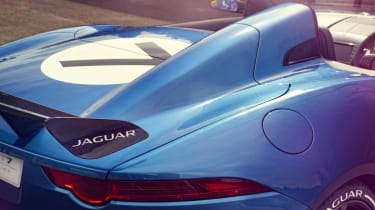 Jaguar F-type Project 7 rear fin