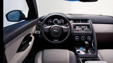 Jaguar E-Pace - driving static R Design interior 3