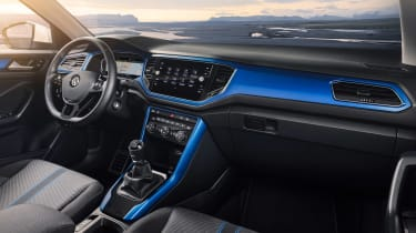 VW T-Roc - Blue interior