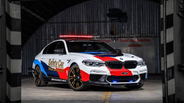 BMW M5 M Performance parts - front quarter