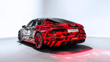 Audi E-tron GT concept teaser - rear quarter