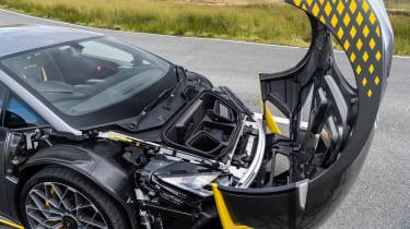 Lamborghini Huracan STO CP – open clamshell