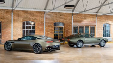 James Bond Aston Martin DBS Superleggera