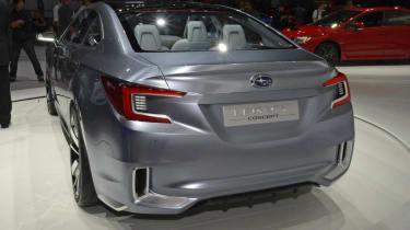 Subaru Legacy Concept silver rear