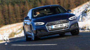 Audi A5 Sportback S-Line - front driving