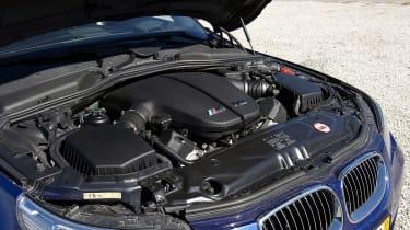 BMW M5 tuned engine