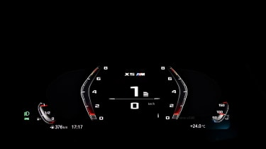 BMW X5M Competition - sport dials