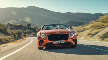 Bentley Continental GT Convertible drive - front