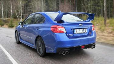Subaru WRX STI rear spoiler