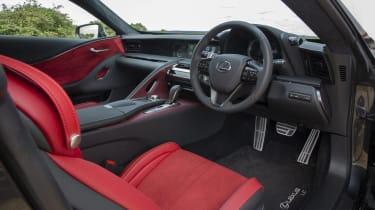 Lexus LC500 MY21 - interior